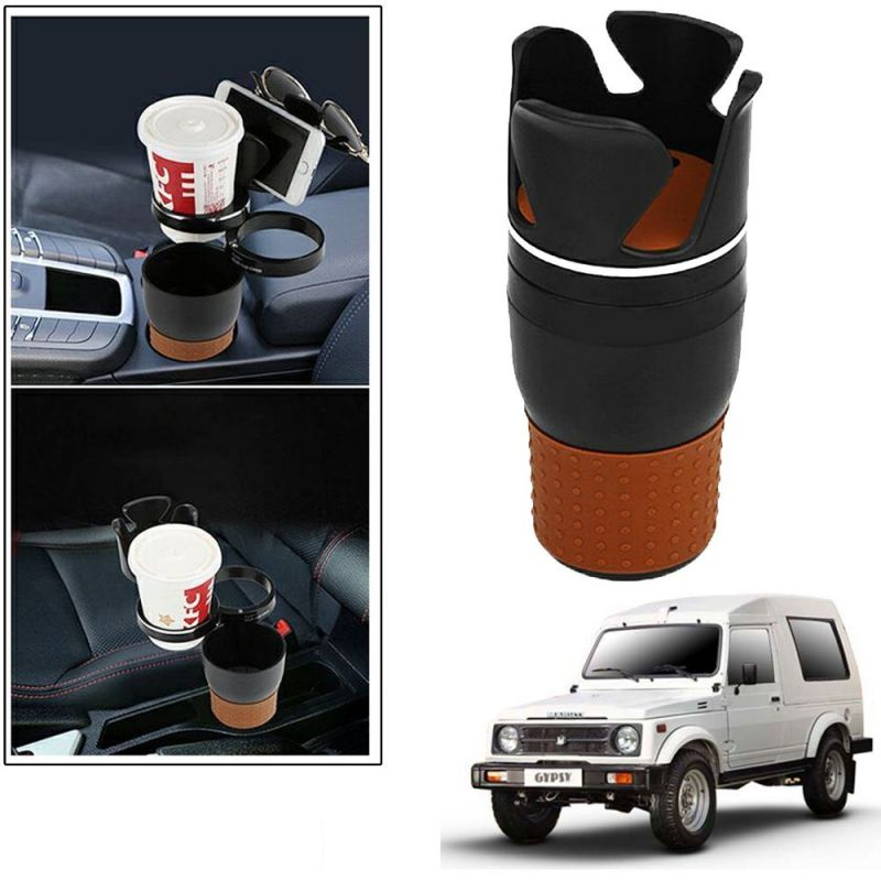Buy Autoright 5-in-1 Car Cup / Car Sunglass / Car Mobile Holder Storage Cup For Maruti Suzuki Gypsy online