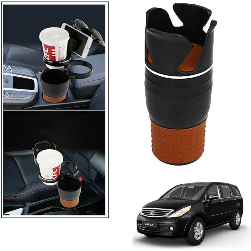 Buy Autoright 5-in-1 Car Cup / Car Sunglass / Car Mobile Holder Storage Cup For Tata Aria online