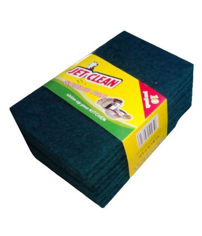 Buy Clean Large Scrub Pad For Perfect Home Cleaning - 10 Pcs Set online