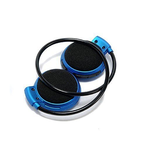 Buy Feomy Mini-503 Sport Bluetooth Stereo Headphone Headset Music Earphones For Mobile Phone / Pc, Support Tf Card -blue online