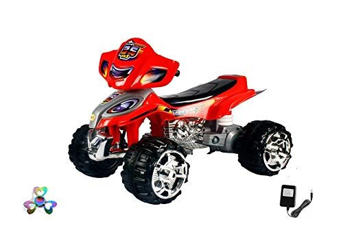 Buy Wheel Power Baby Battery Operated Ride On Beach Bike Red Free Fidget online