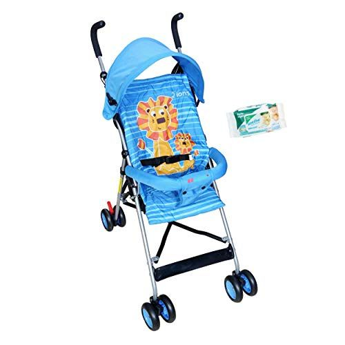 Buy Hh Harry & Honey Lion Baby Pram Blue online