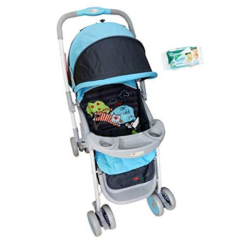 Buy Hh Harry & Honey Delight Baby Stroller Blue-black online