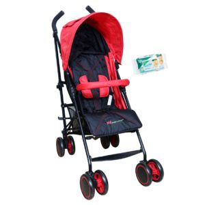 Buy Harry & Honey Baby Solo Pram Red Free Wipes online
