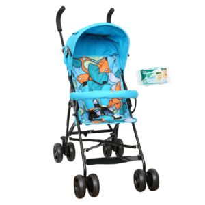 Buy Harry & Honey Baby Bella Pram Blue online