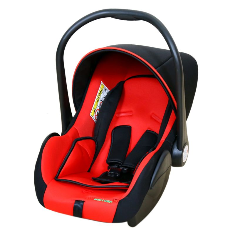 Harry & Honey Baby Car Seat Red