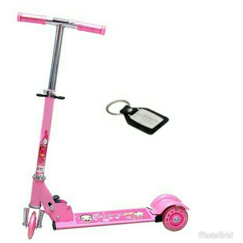 Buy Wheel Power Baby Scooter (ta 001 Pink) online