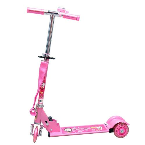 Buy Wheel Power Baby Scooter (ta 002 Pink) online
