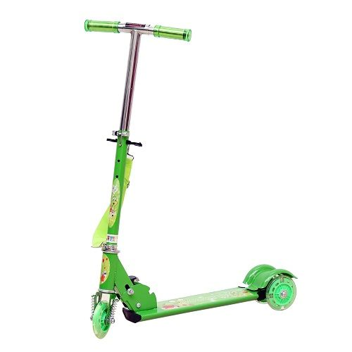 Buy Wheel Power Baby Scooter (ta 002 Green) online