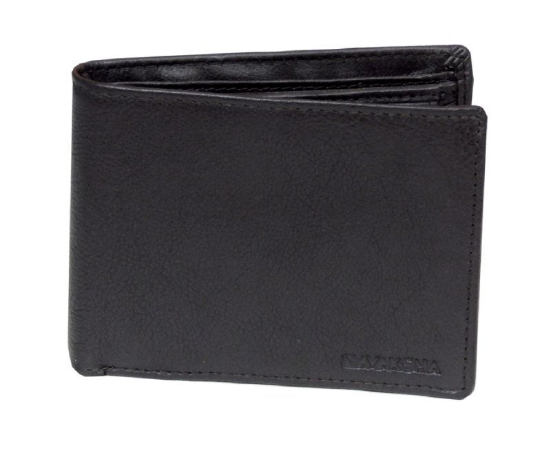 Buy Navaksha Pure Soft Leather Brown Wallet (ichw135) online