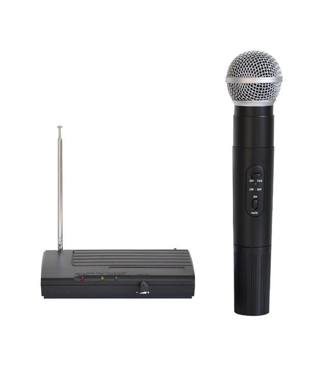 Buy Alton Lx-68 Cordless /wireless Professional Microphone (vhf) online