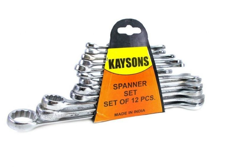 Buy Stanley 12pc Comb Spanner Set (6-14,17,19and22mm) online