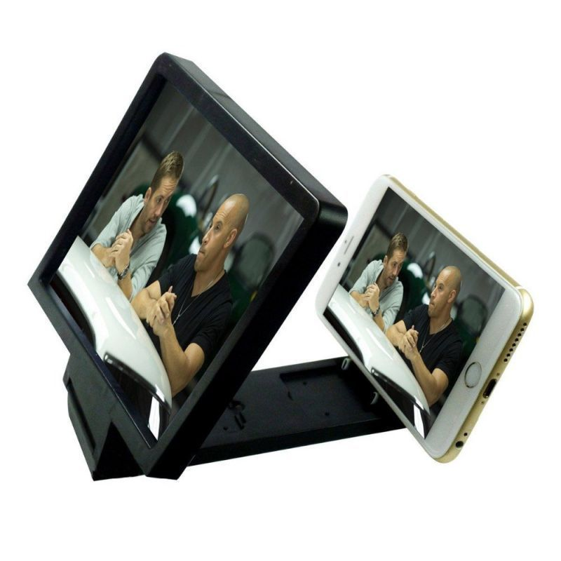 Buy Rissachi 3d Magnifier Glass Enlarge Screen For All Mobile Phone (black) online