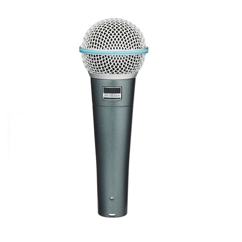 Buy Krown Beta-58 Dynamic Vocal Microphone With Low Noise 5mtr Mic Lead online