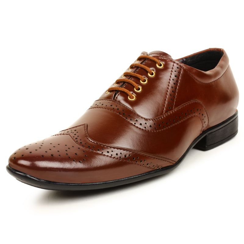Buy Buwch Mens Formal Brown Shoe online
