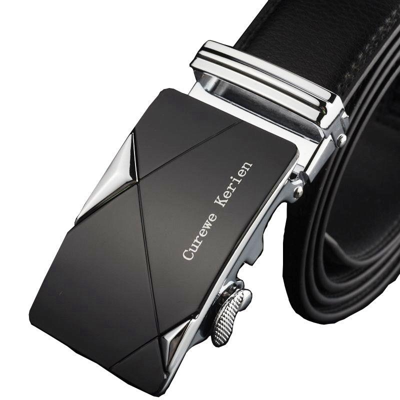 Buy Curewe Kerien Men Pu Leather Belt Automatic Buckle Belts Men's Trendy Belts online