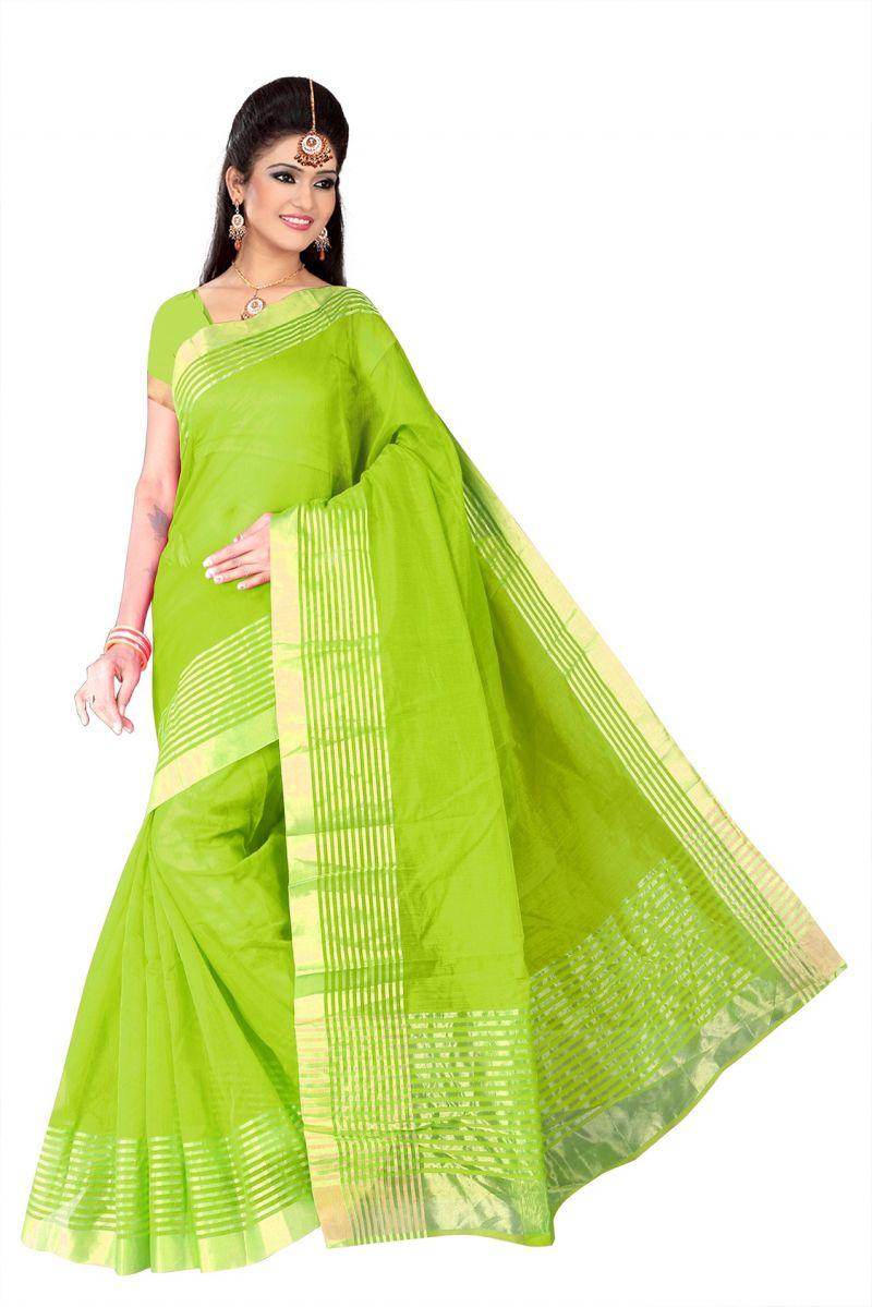 Buy Mahadev Enterprises supernet  Saree With Blouse online