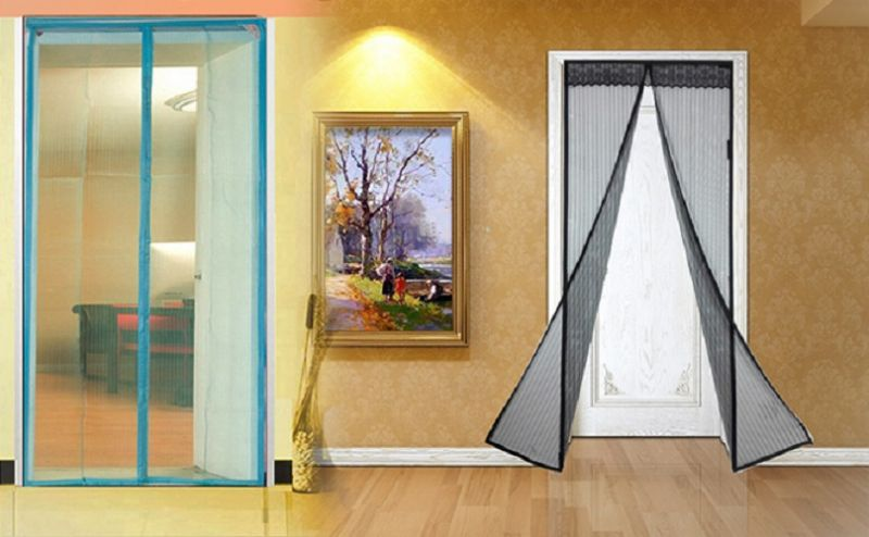 Buy Magnetic Magic Mesh Handsfree Screen Door Curtain online