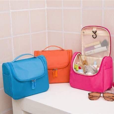 Buy Portable Waterproof Cosmetic Makeup Bag Toiletry Case online