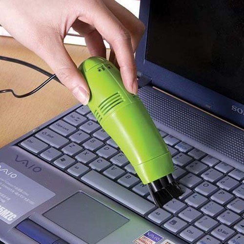Buy Mini Vacuum Cleaner For Laptop With USB Connection Keyboard Vacuum Sweeper online
