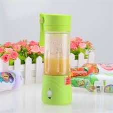 Buy Shrih Blue Portable USB Rechargeable Juice Blender online