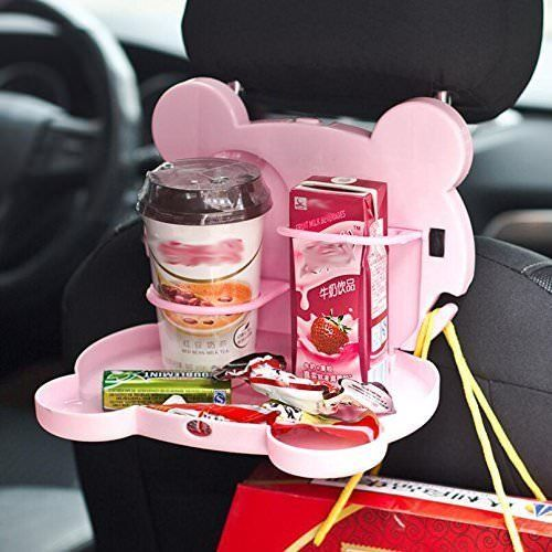 Buy Multi Functional Travel Cartoon Shaped Auto Car Back Seat Tray Table Drinks Food Holder online