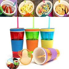 Buy Snackeez -Two In One Snack And Drink Cup online