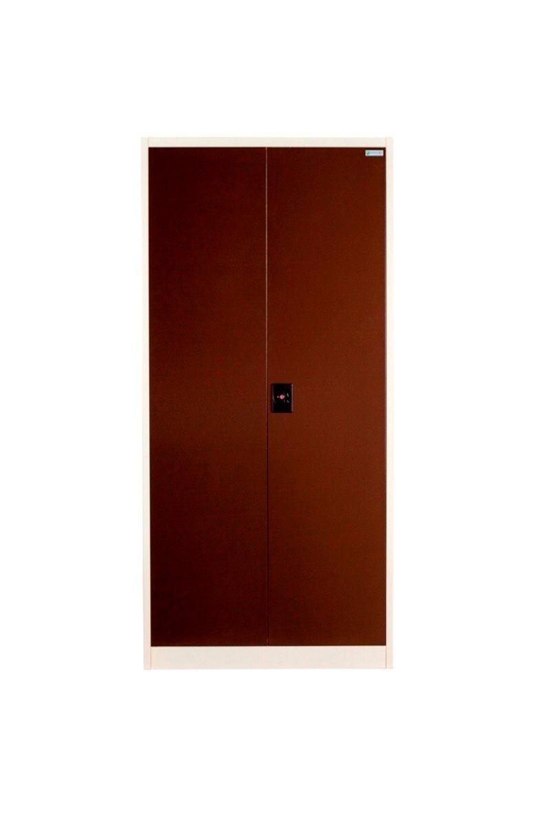 Buy Panajoy Two Door Wardrobe- Brown online