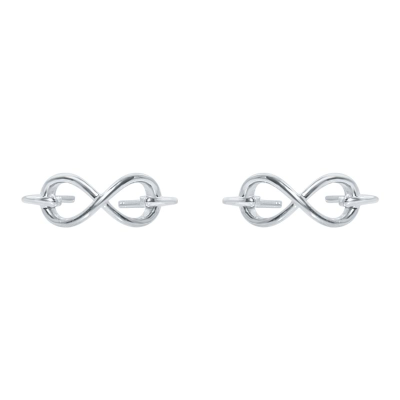 Buy Silver Dew Infinity Adjustable Toe Ring In Pair Of Two 925 Pure Silver Sdto017 online