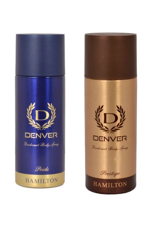 Buy Denver Hamilton Pride Prestige Deodorant Body Spray ( Pack Of 2 ) - An185 online