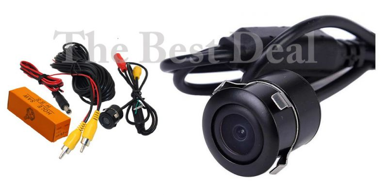 Buy The Best Deal In Reverse/ Rear View Parking LED Light HD Camera - 170 Degree Wide, Waterproof, Day & Night Vision Honda City Zx online