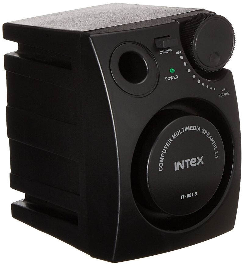 Buy Intex It- 881s 2.1 Channel Computer Multimedia Home Theater Speakers online