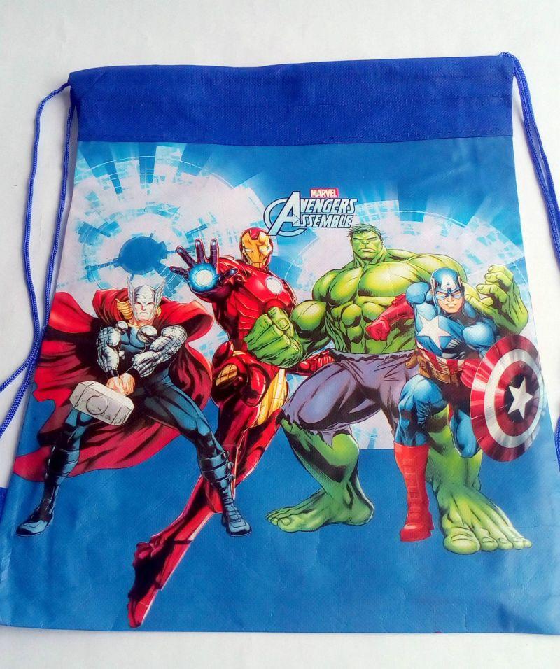 12 PCs Avengers Kids Pithu Bags Picnic Tution Best Birthday Return Gift Rg476