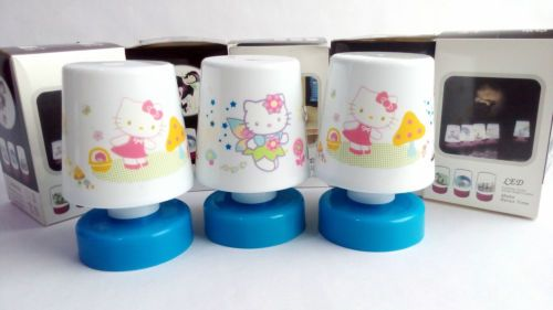 4 Pcs Hello Kitty Relax LED Lamp Kids Room Best Birthday Return Gift Gr08