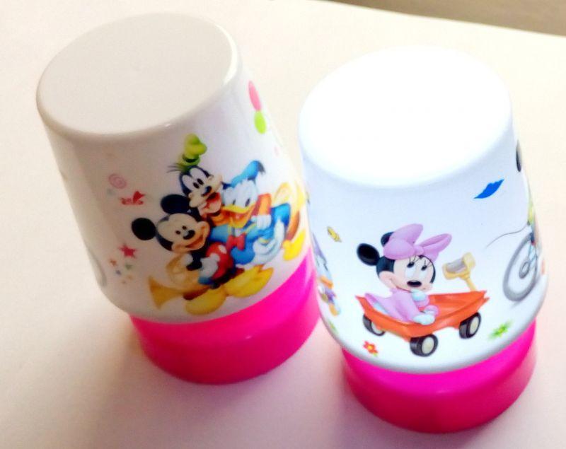 Buy 4 PCs Mickey Relax Table LED Lamp Kids Room Best Birthday Return Gift