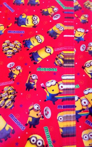 #10 PCs Minion Gift Wrap Paper Sheets (50x70 Cms) For Birthday Packing -rg386  sc 1 st  Rediff Shopping & Buy #10 PCs Minion Gift Wrap Paper Sheets (50x70 Cms) For Birthday ...