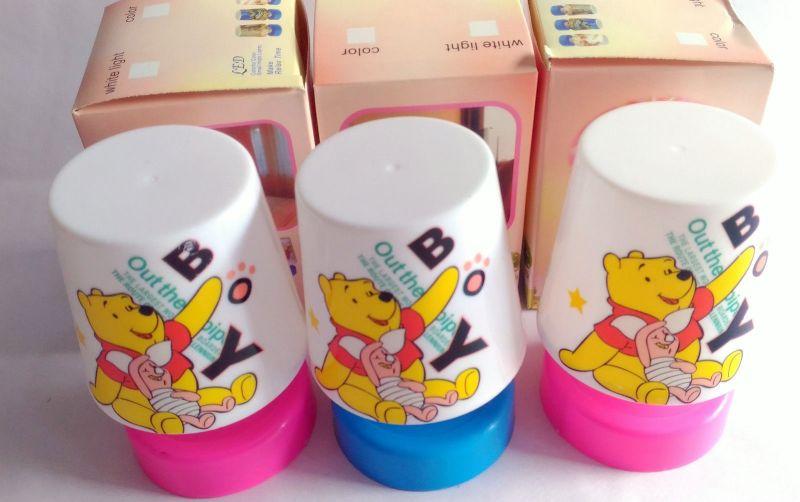 4 PCs Pooh Relax Table LED Lamp Kids Room Best Birthday Return Gift Gr03