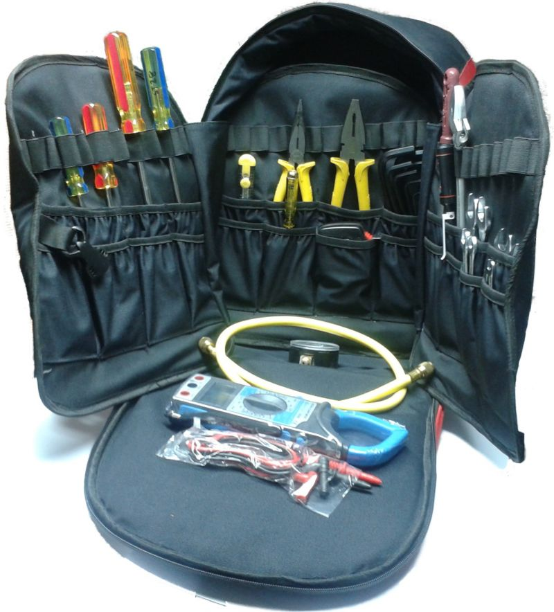 Buy Mighty Mounts Hvac Professional Heavy Duty Tool Bag With Standard Tools online