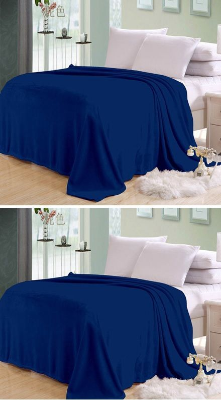 Buy Sai Arpan Plain Double Bed Ac Blanket Buy 1 Get 1 Free online