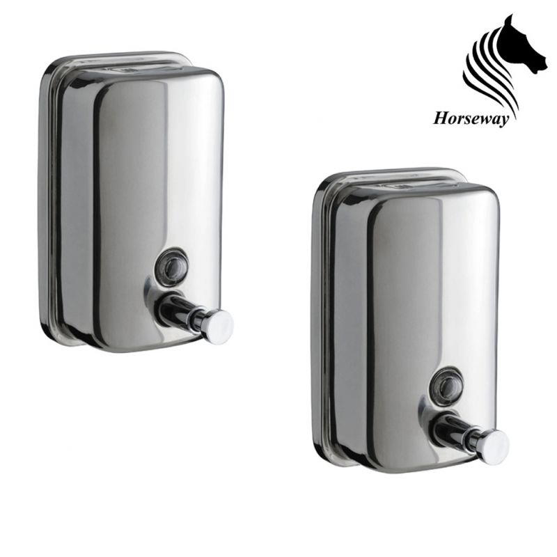 Buy Horseway Stainless Steel Soap Dispenser - 500ml - Set Of 2 online