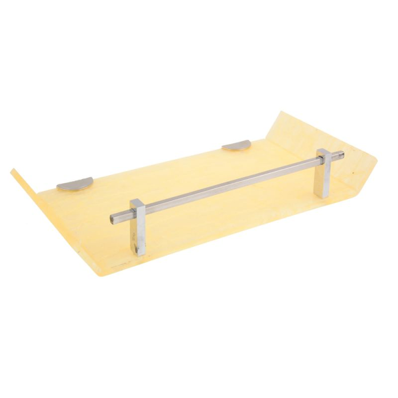 Buy Horseway Ivory Color Marble Designed Acrylic Wall Shelf - 12x5 Inch online