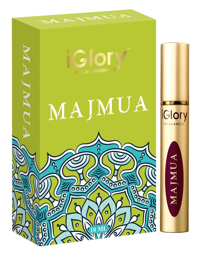 Buy Iglory Roll On Fragrances' Alcohol Free Pure Scents - Majmua - 10ml online