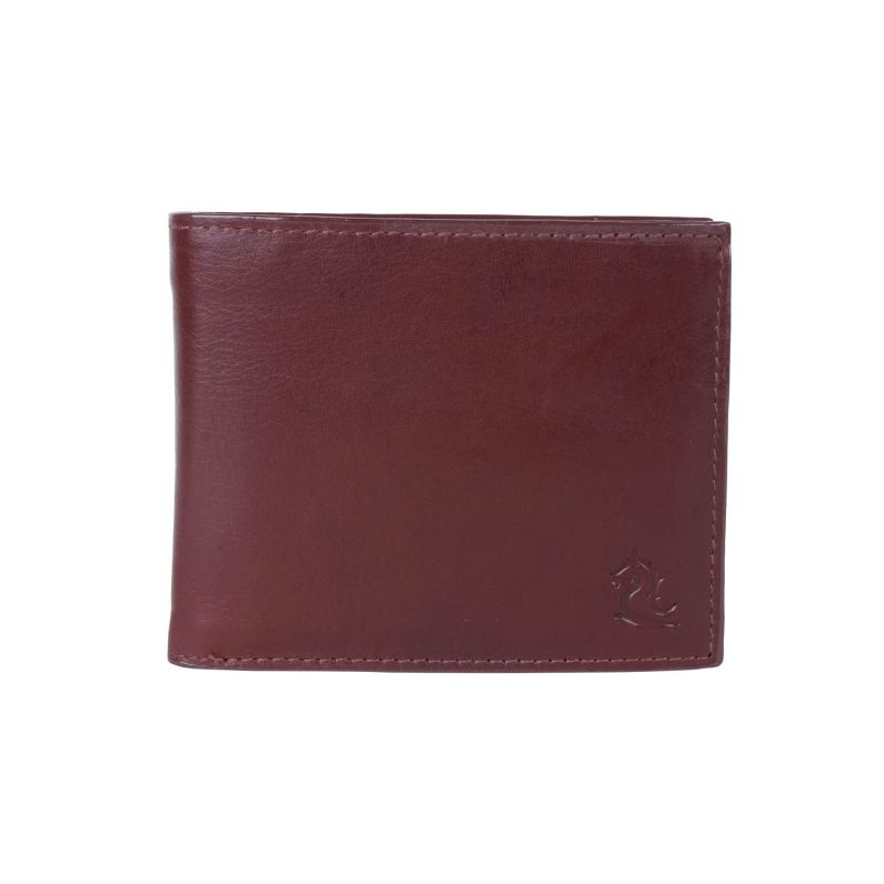 Buy Kara Tan Brown Color Leather Two Fold Wallet For Men online