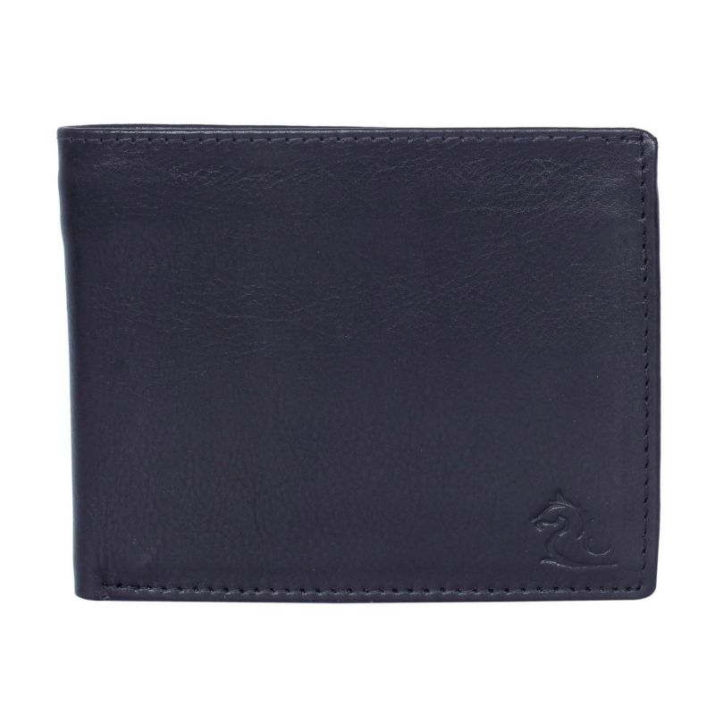 Buy Kara Black Color Leather Wallet For Men online