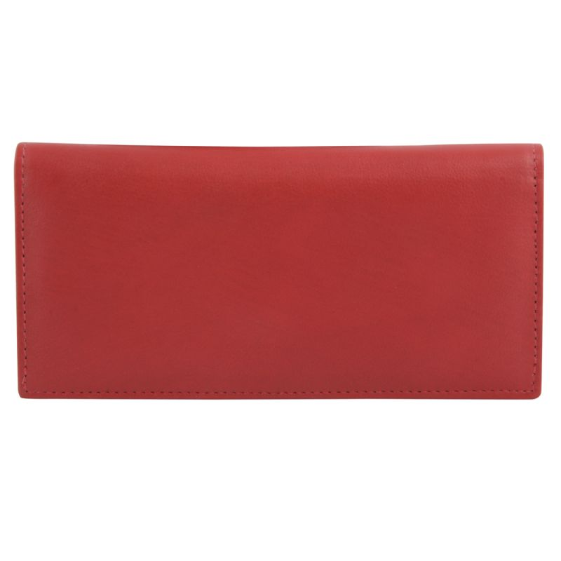 Buy Kara Red Color Leather Wallet For Women online