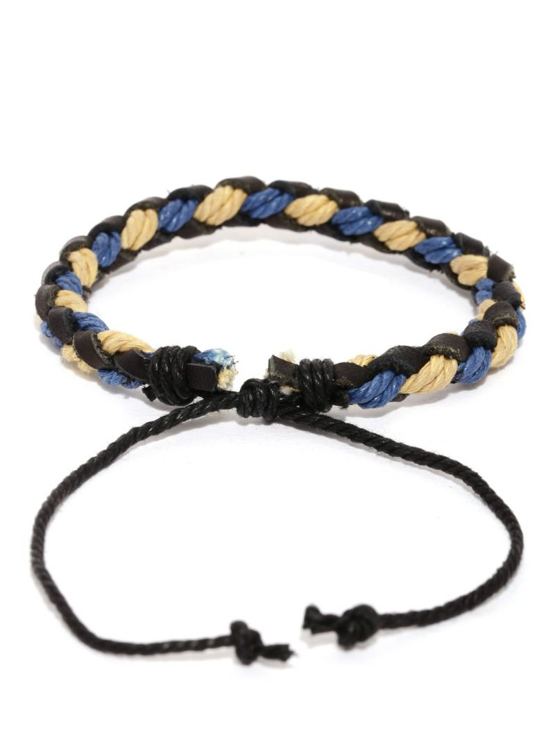 Buy Tipsyfly Party Wear Santa Fe Braided Bracelet For Men (1 Bracelet) online