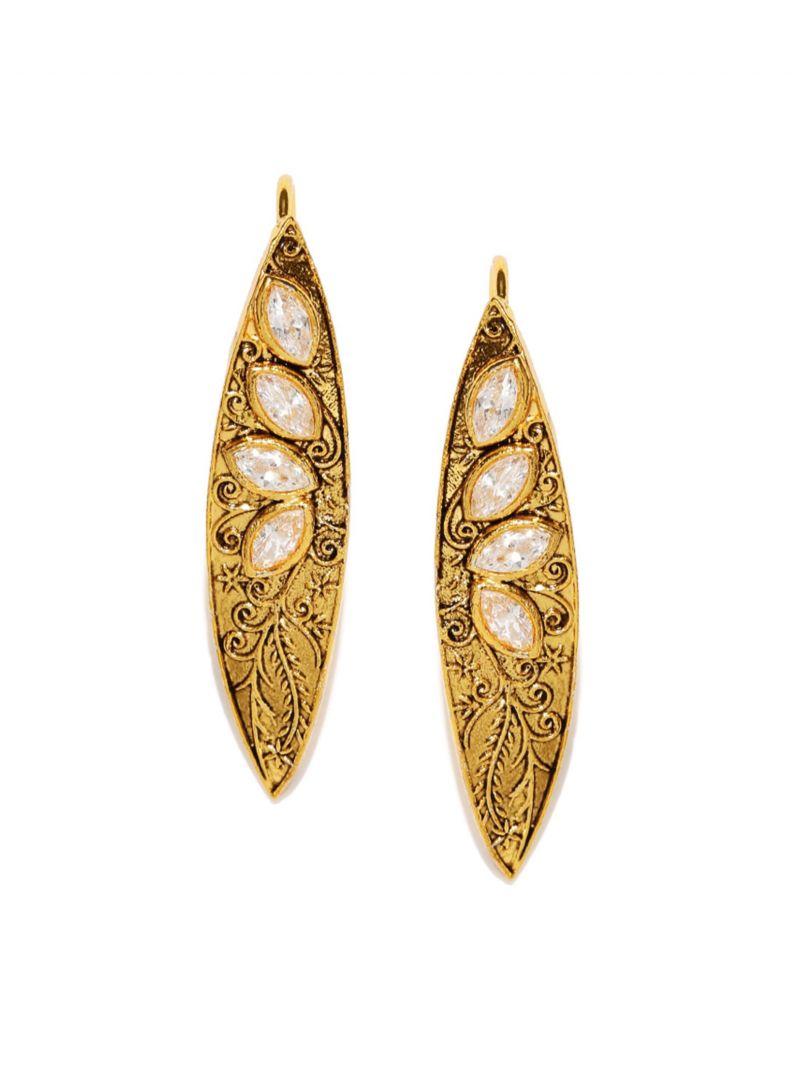 Buy Tipsyfly Laurel Ethnic Earrings For Women-1131e online