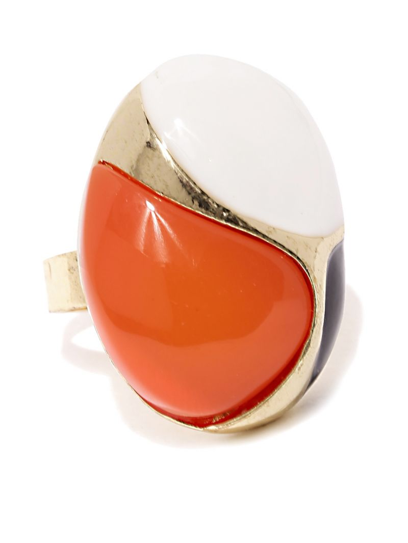 Buy Tipsyfly Party Wear Orange Casa Ring For Women (1 Ring) online