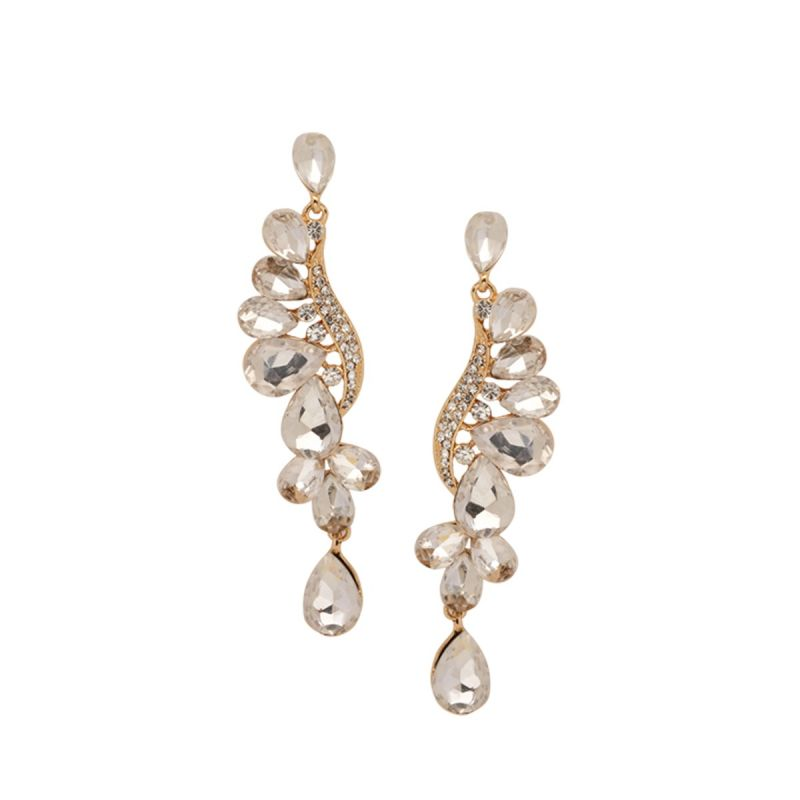 Buy tipsyfly alloy push back crystal dance earrings chandelier buy tipsyfly alloy push back crystal dance earrings chandelier earring for women263e online aloadofball Image collections