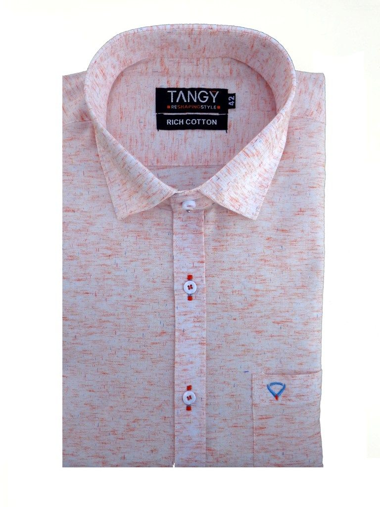 Buy Tangy Men's Wear Plain Full Shirt online